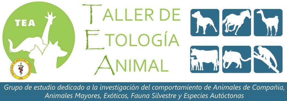 TALLER DE ETOLOGÍA ANIMAL