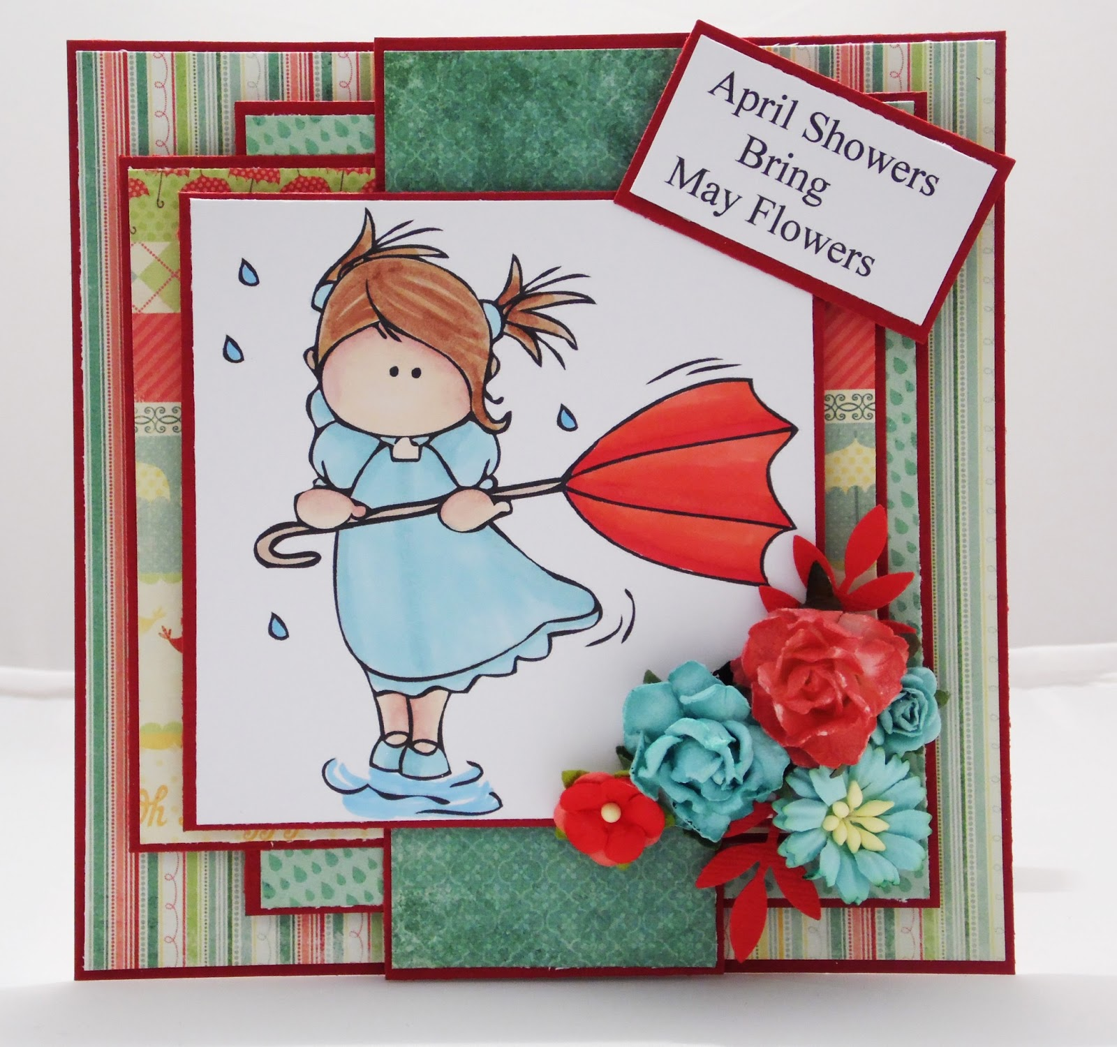 Crafty Cardmakers: #90 April Showers Bring May Flowers