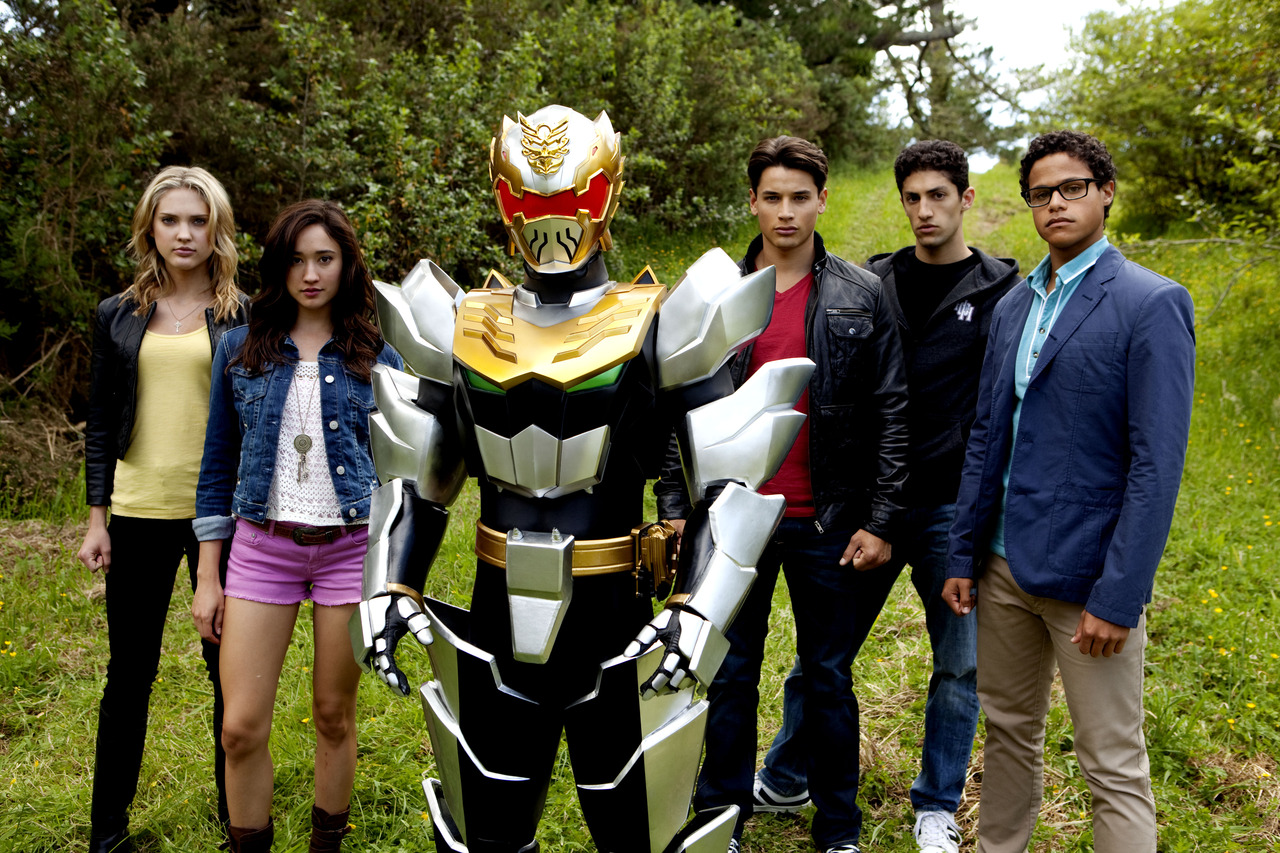 in the latest series of power rangers power rangers megaforce