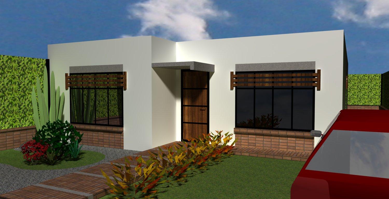 viviendas minimalistas tipo para condominio en colcapirhua