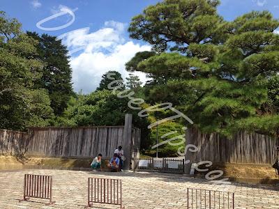 Entrance to Shugakuin Villa