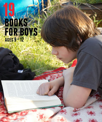 Great books for middle grade and middle school boys. 4th - 8th graders, including reluctant readers, will love these!