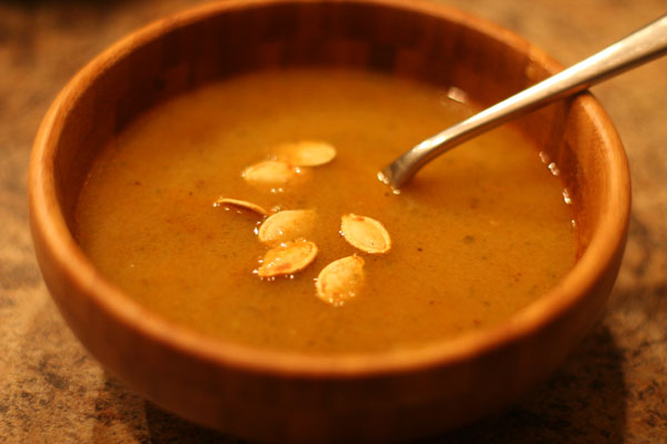 Sopa de Jerimum (Pumpkin Soup)