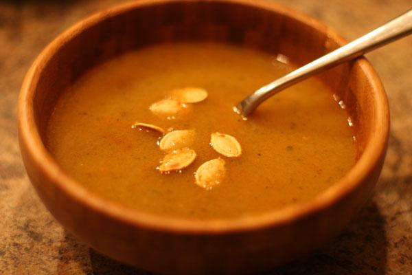Sopa de Jerimum (Pumpkin Soup)