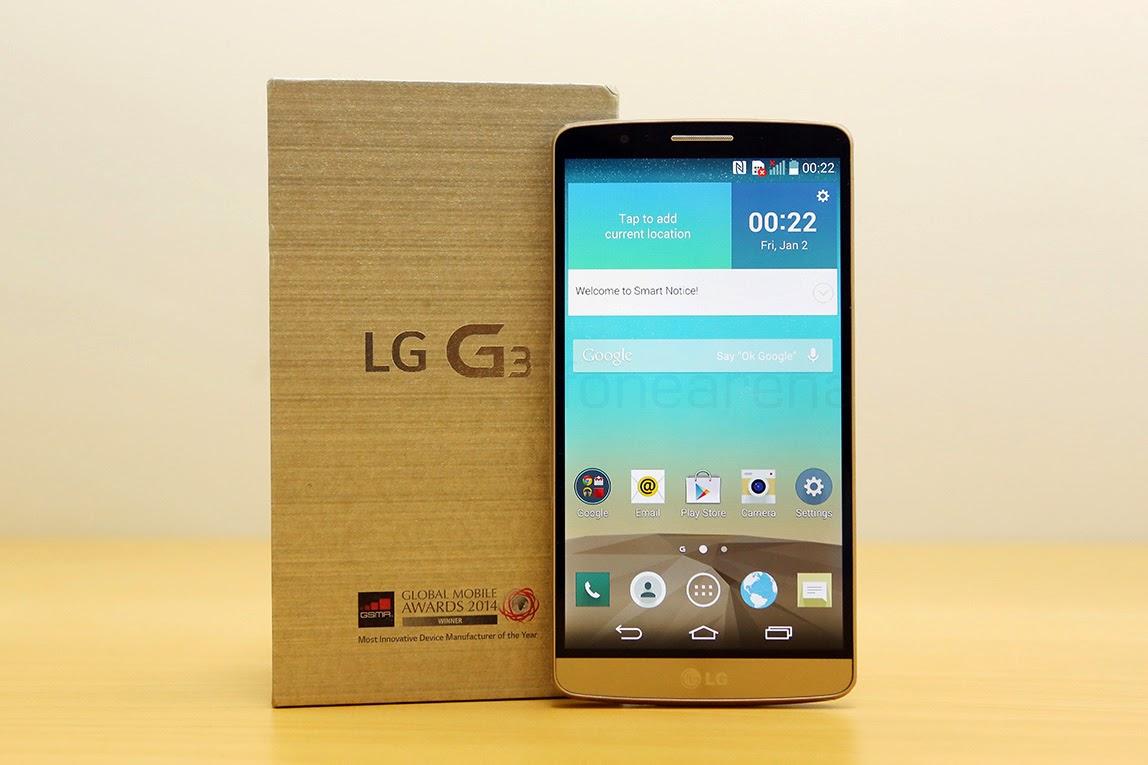 Perbandingan Hp Andalan Samsung Galaxy A7 dangan LG G3