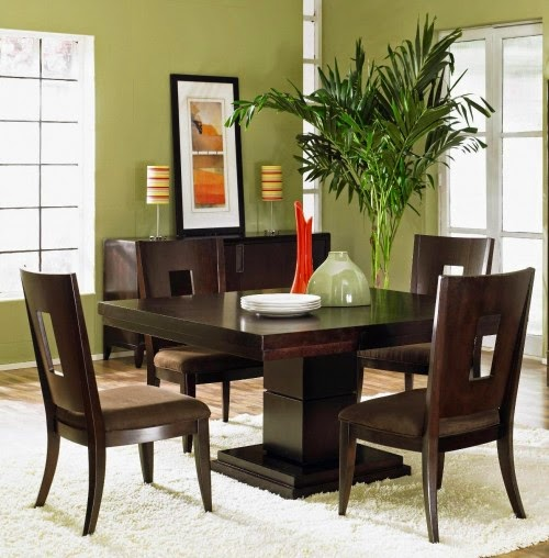 contemporary dining room interior designs