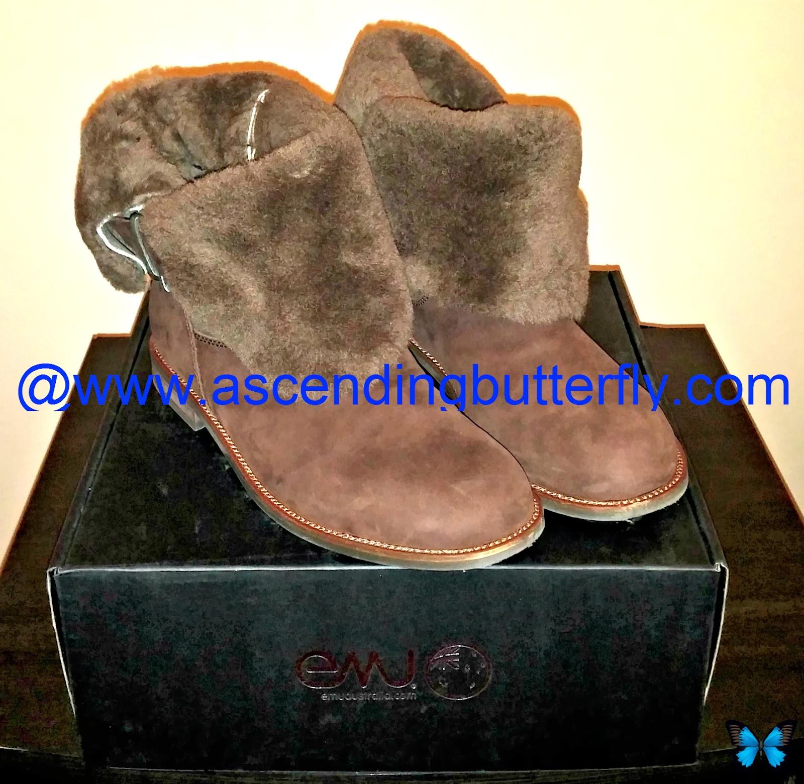 Emu Australia Agnes Boot, Chocolate