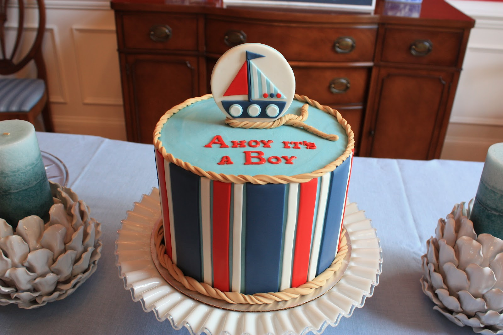 Ahoy Its A Boy Baby Shower!
