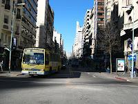 julio, centro, montevideo, uruguay, omnibus