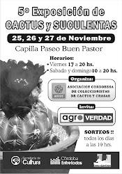 5ª Exposición de CACTUS Y SUCULENTAS