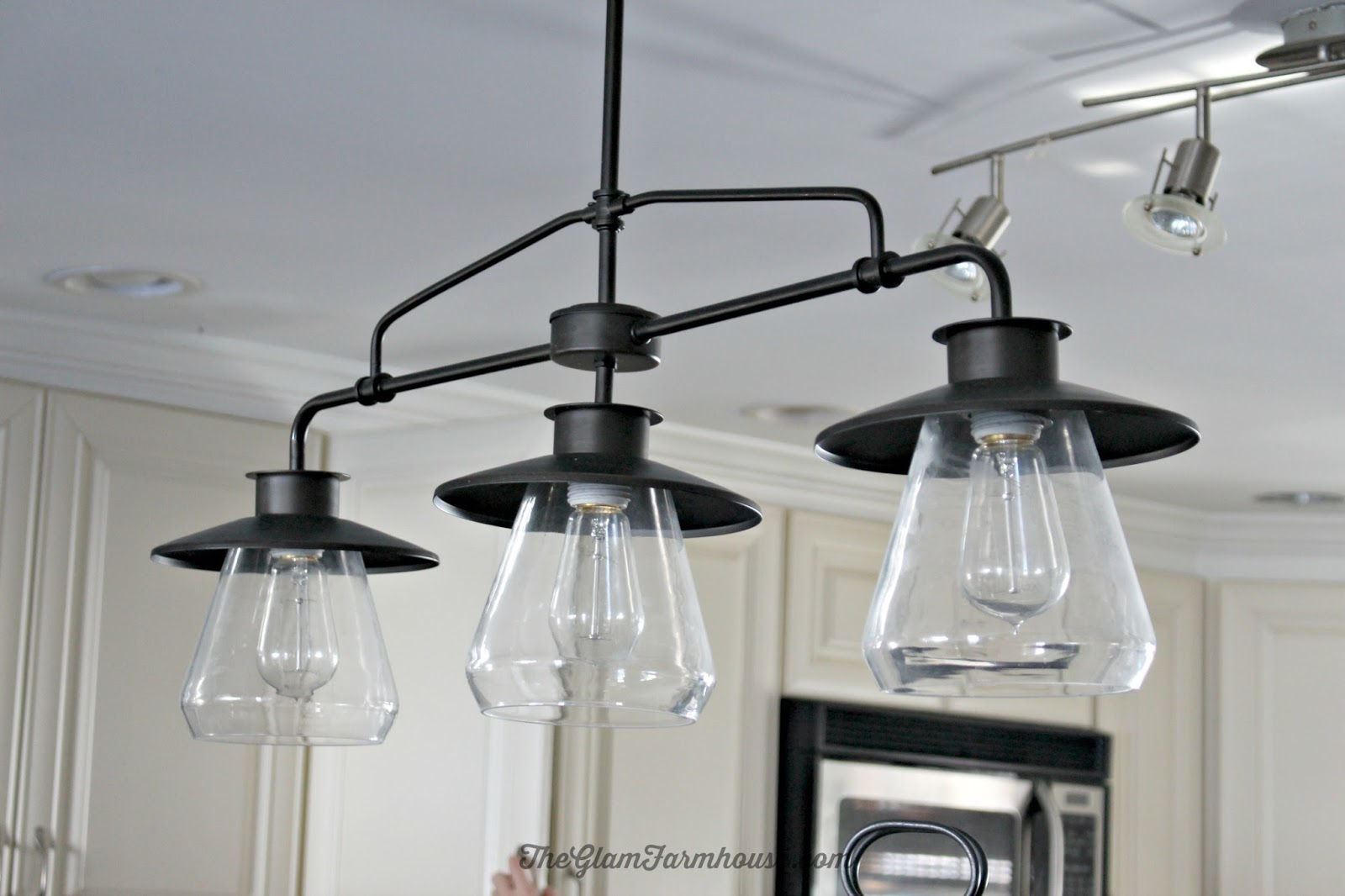 Farmhouse Dining Room Lighting Rustic Glam Dining Room Tour With Before Amp Afters The Glam