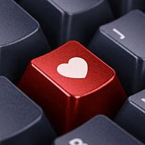 internet-love - Valentines Day Celebration Via Internet