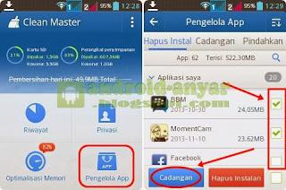Cara ambil file .apk dari aplikasi yang dipasang di HP Android dari Play Store