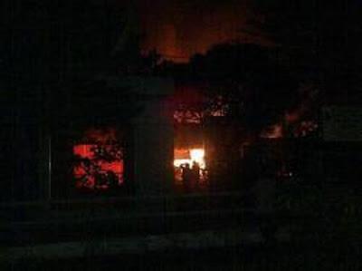 Foto Kebakaran LP Tanjung Gusta Medan