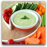 Pesto Veggie Dip