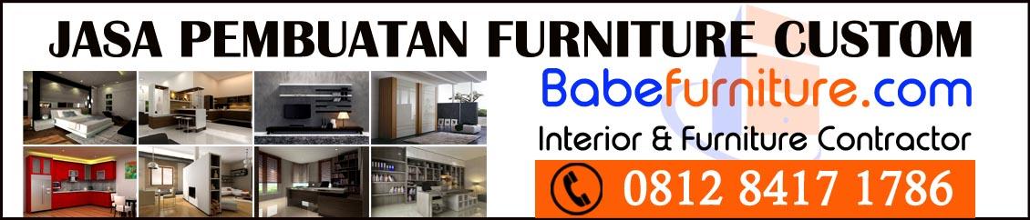Babe Furniture - Jasa Pembuatan Lemari Pakaian Tanggerang 0812 8417 1784