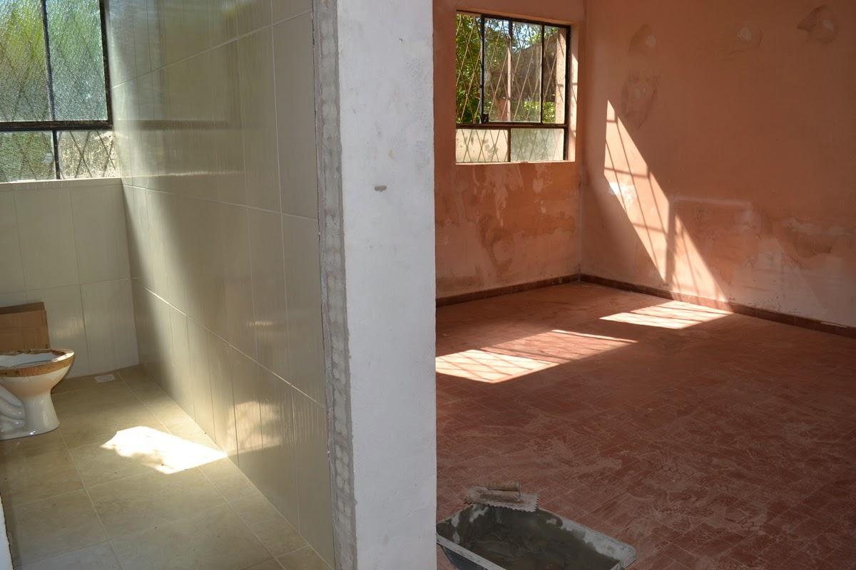 As obras de reforma da Casa lar dos Idosos localizada na Zona Sul de  #6F4330 1200 800
