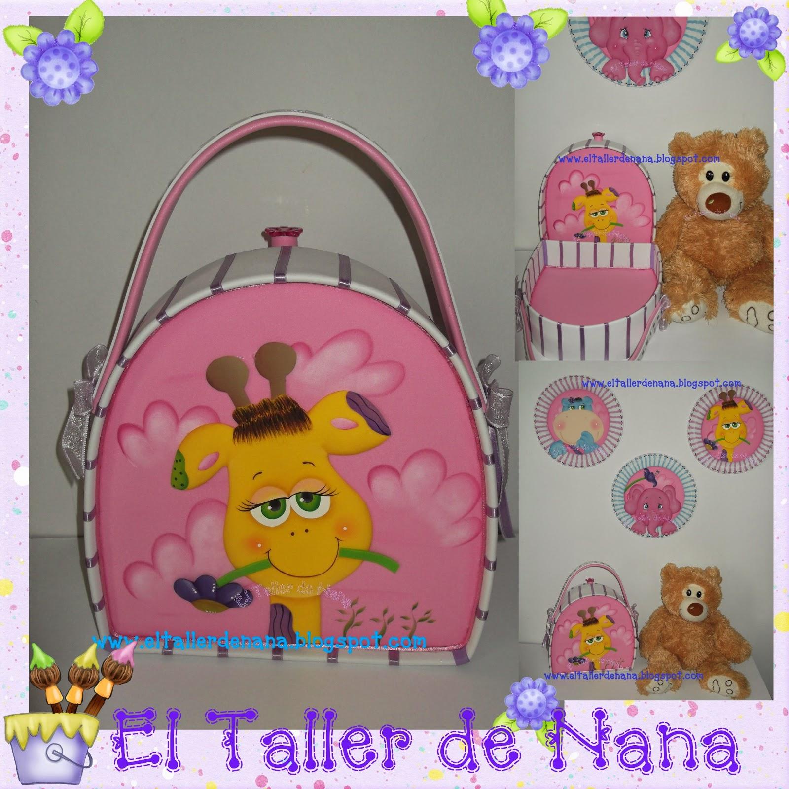 El Taller de Nana: Decoración Habitación Infantil para Niña en Foami.