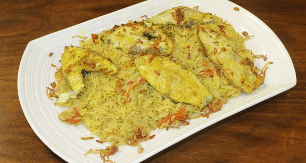 Recipes of Sindhi Food Sindhi Fish Pulao Recipe by