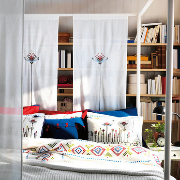IKEA Curtain Room Divider