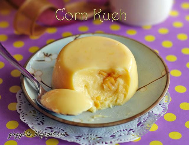 Corn Kueh 玉米糕