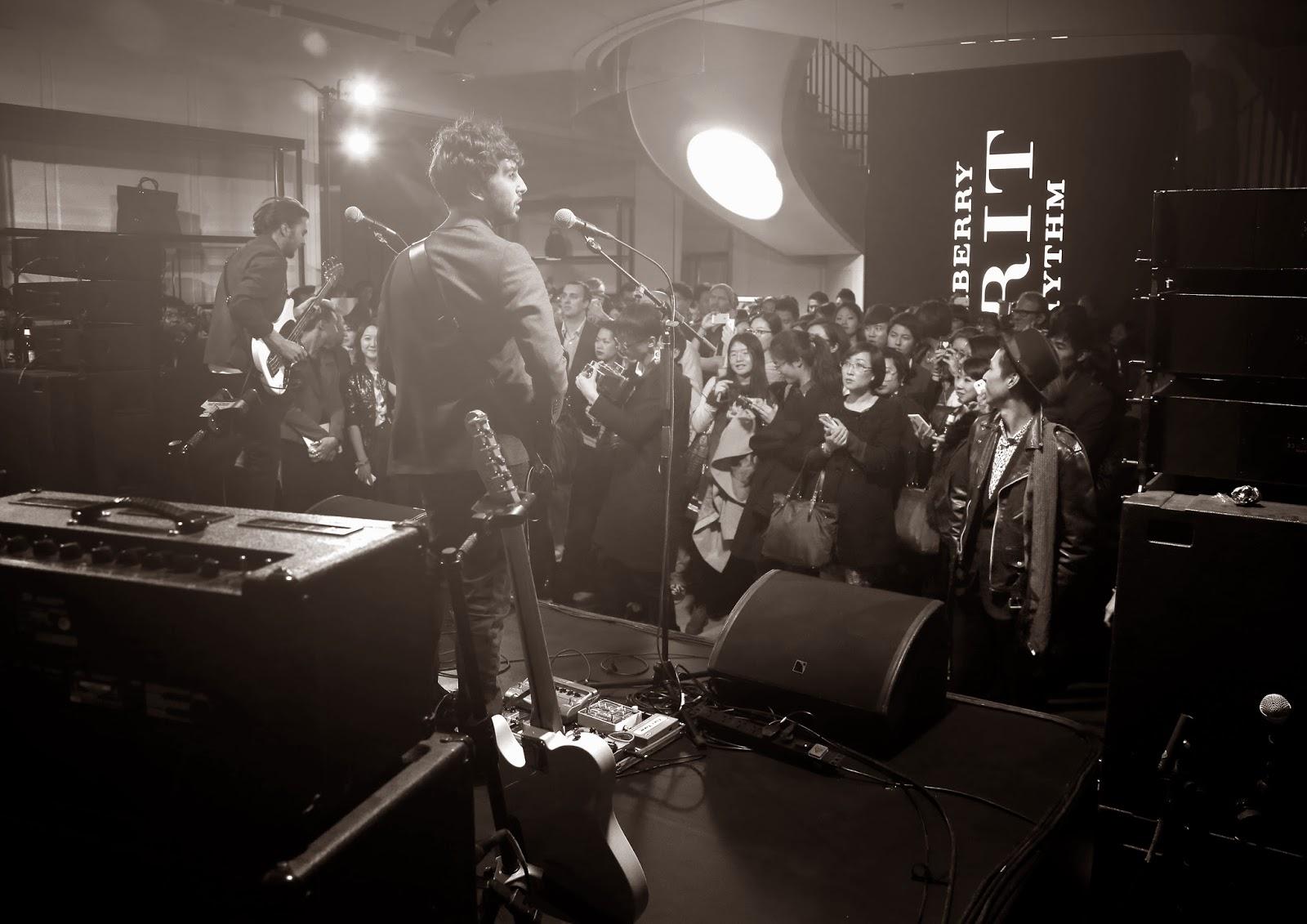 George Barnett in Burberry - Burberry Brit Rhythm, Shanghai