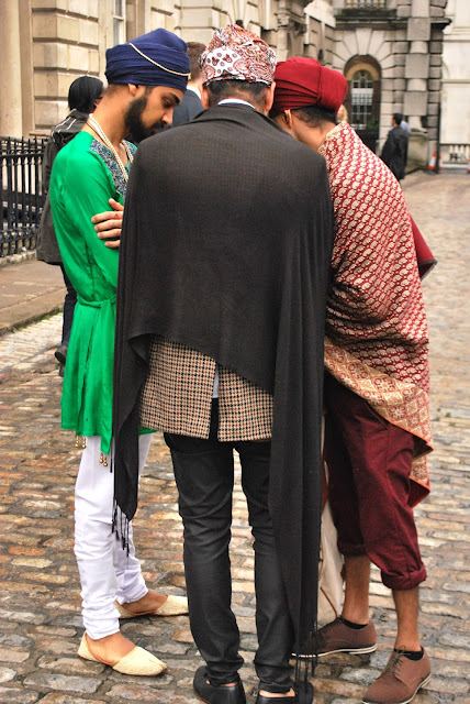 Sikh street style, from the Singh Street Style with pardeep bahra, harmeet saini ,manpreet dhand at london fashion week s/s 14