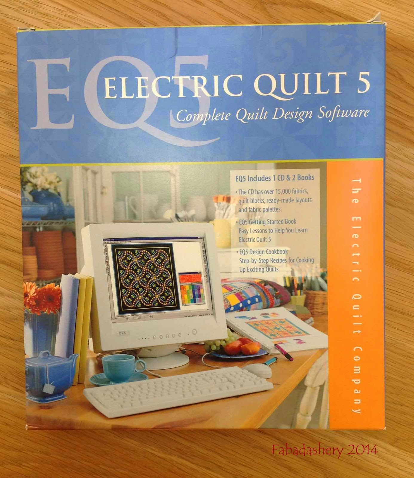 Electric Quilt 5 Software