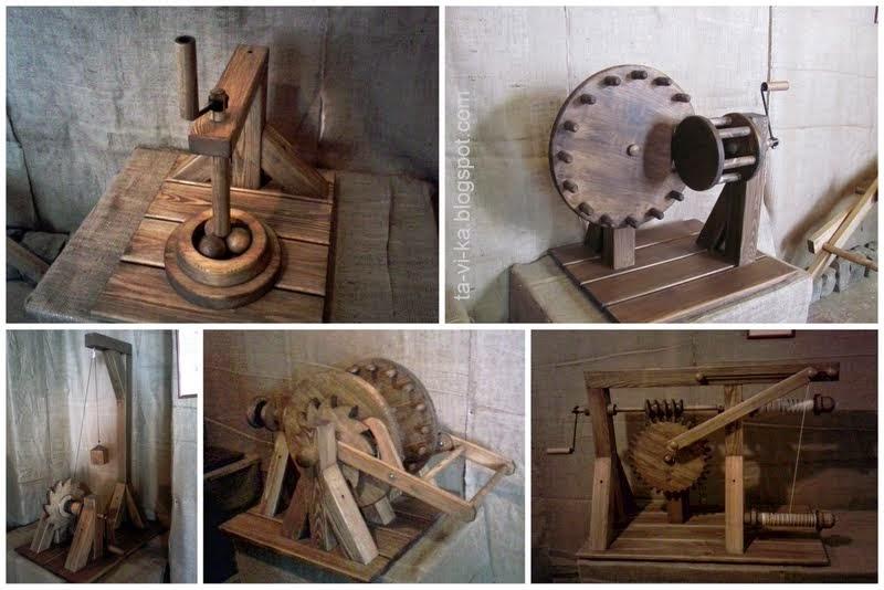 Механика Леонардо да Винчи