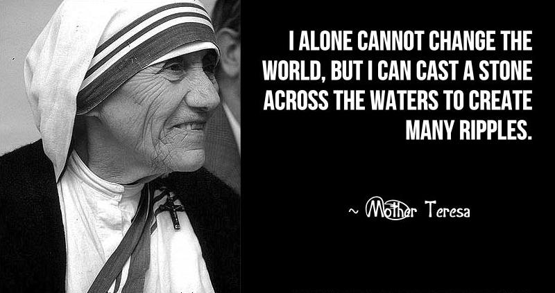 9pikz: MOTHER TERESA : QUOTES AND IMAGES
