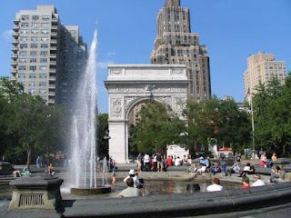 New York University campus   Washington Square Park   Find the best undergraduate art history programs at http://schulmanart.blogspot.com/2011/08/top-5-art-history-undergraduate.html