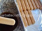 Tiramisu cu mascarpone preparare reteta prajitura