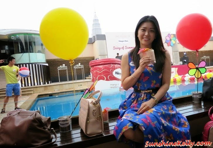 Haagen Dazs Scoop of Summer Beach Party Luna Bar