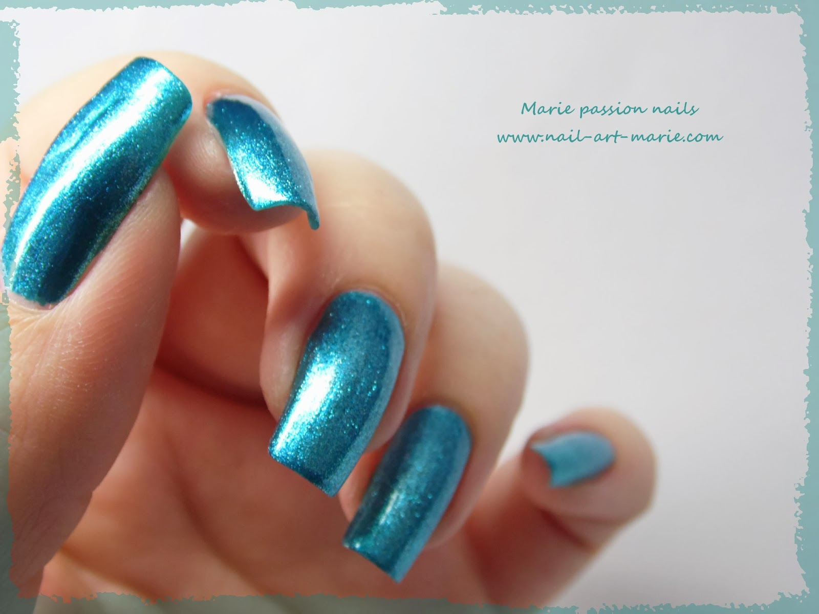 Kleancolor Metallic Aqua5