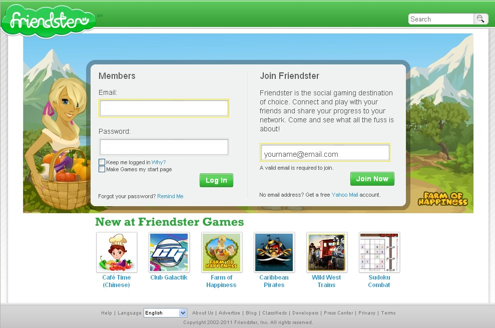 Friendster 2011