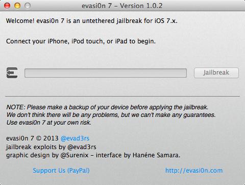 Evasi0n7 v1.0.2 Released