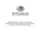 Reforma, disposiciones a la LGE