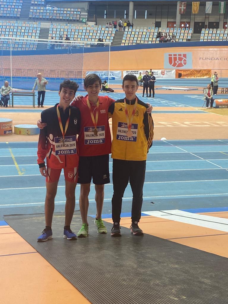 Sots-Campió d'Espanya de 1500 m.ll. Sub18 2020