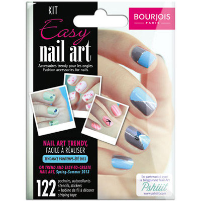 kit Easy nail art Bourjois