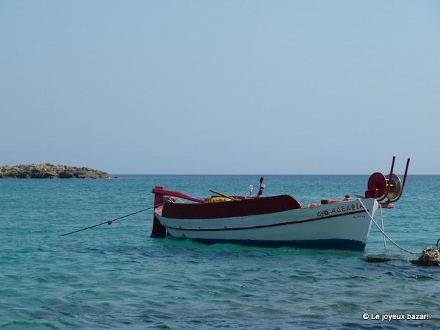 Ios -plage de Manganari