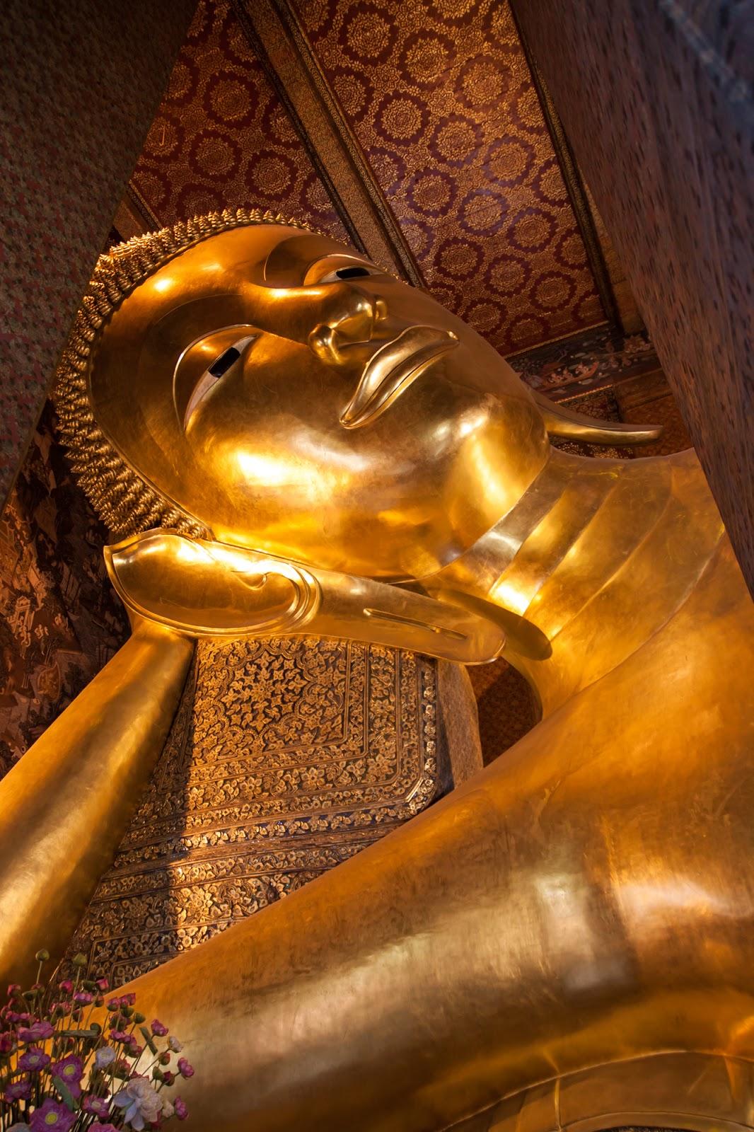 Reclining Buddha @ Wat Pho วัดโพธิ์