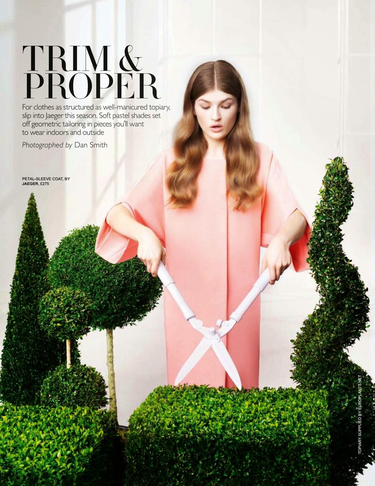 Fashion Model @ Molly Smith - Tatler UK, May 2015