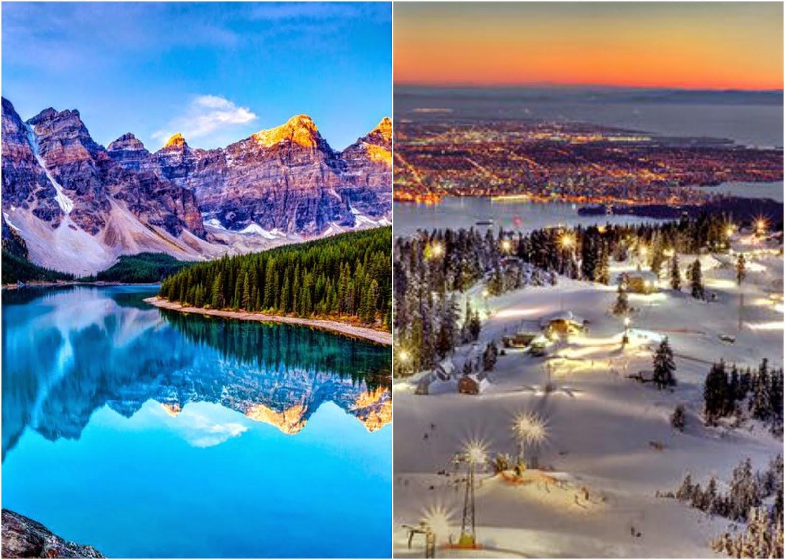 Canada, Travel Bucket List