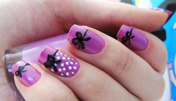 diseño de uñas y decorados faciles , imagenes de pintados nuevos