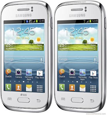 2 Samsung Galaxy Young