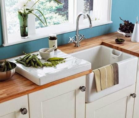Cafran cocinas c mo limpiar un fregadero - Fregadero de porcelana ...