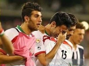حذف ایران از جام ملت های آسیا