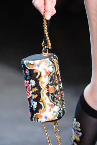 Dolce & Gabbana Needlepoint Bag