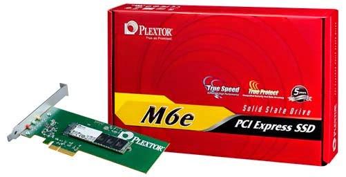 Plextor M6e PCIe SSD