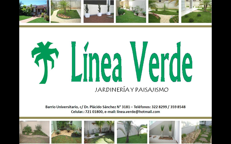 Linea verde jardiner a y paisajismo for Linea verde favaro